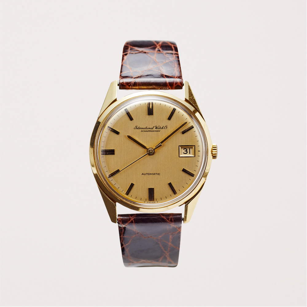 SOLD OUT|IWC|Men's model 18KYG - 66's|Vintage IWC