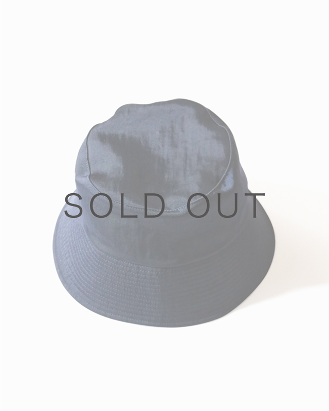 WATER PROOF NYLON BUCKET HAT – Navy|COMESANDGOES
