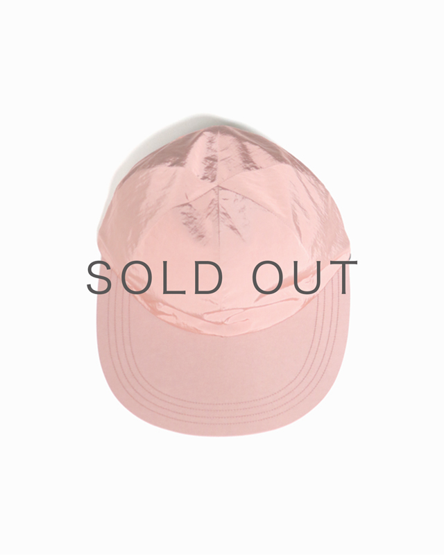 LIGHT NYLON BIG BRIM CAP – Pink|COMESANDGOES