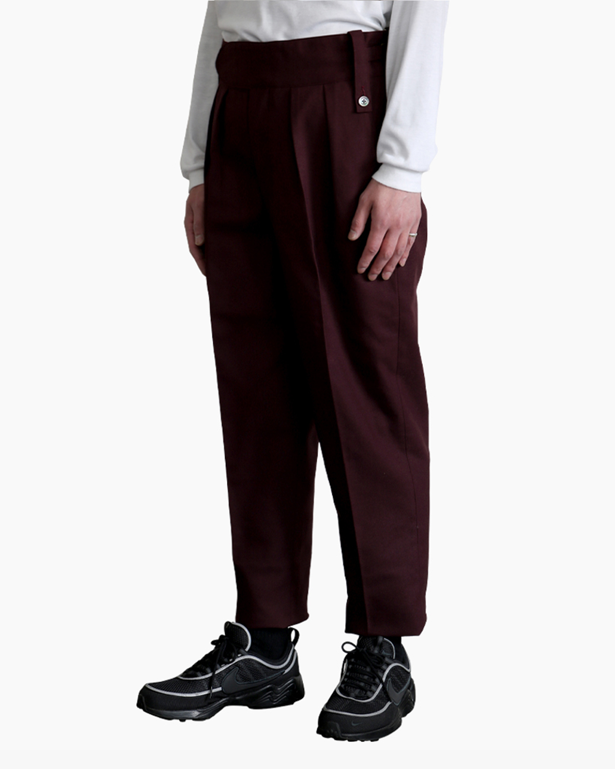 HOPSACK|BELTLESS – Vintage Bordeaux|Exclusive|NEAT
