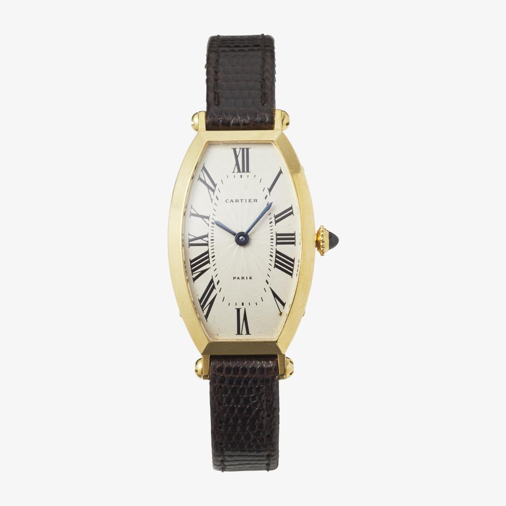 Cartier|TONNEAU 18KYG – 90's|VINTAGE Cartier