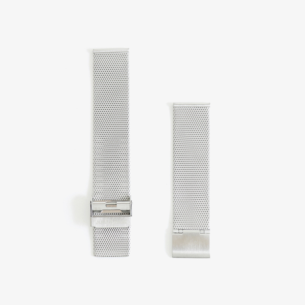 max bill Stainless band 20mm – Silver|JUNGHANS