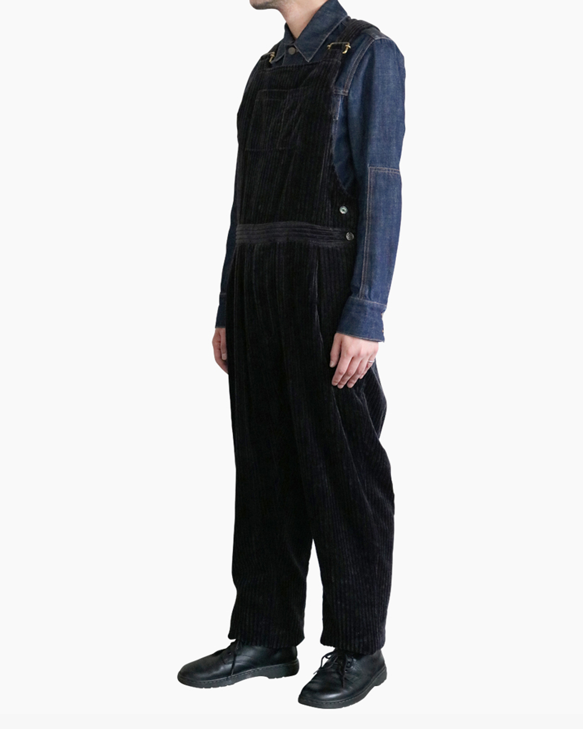 3W Corduroy|OVERALL – BLACK|Exclusive|NEAT