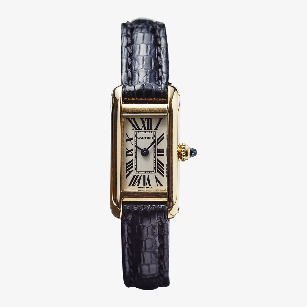SOLD OUT Cartier TANK ALLONGE VINTAGE Cartier