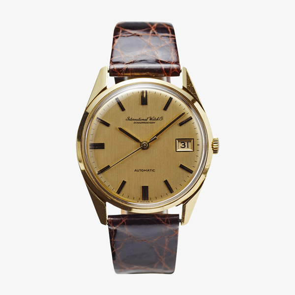 SOLD OUT IWC Men's model 18KYG – 66's Vintage IWC