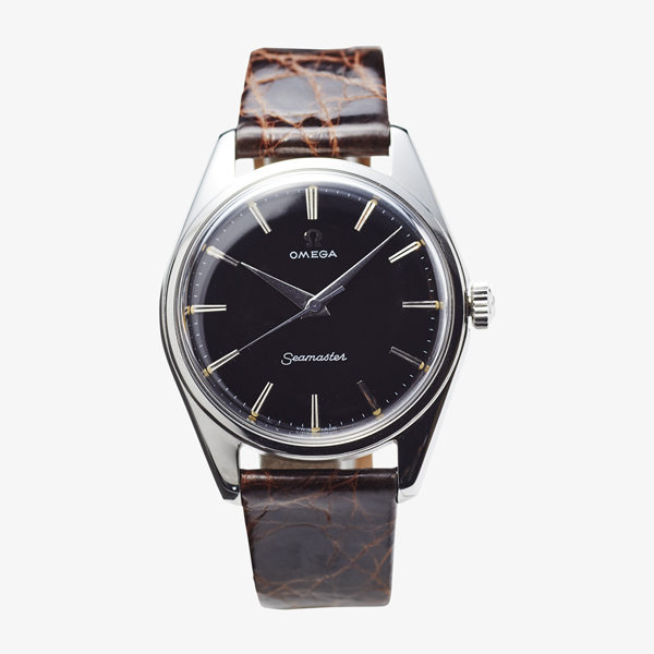 SOLD OUT|OMEGA|Black dial model – 50's|VINTAGE OMEGA