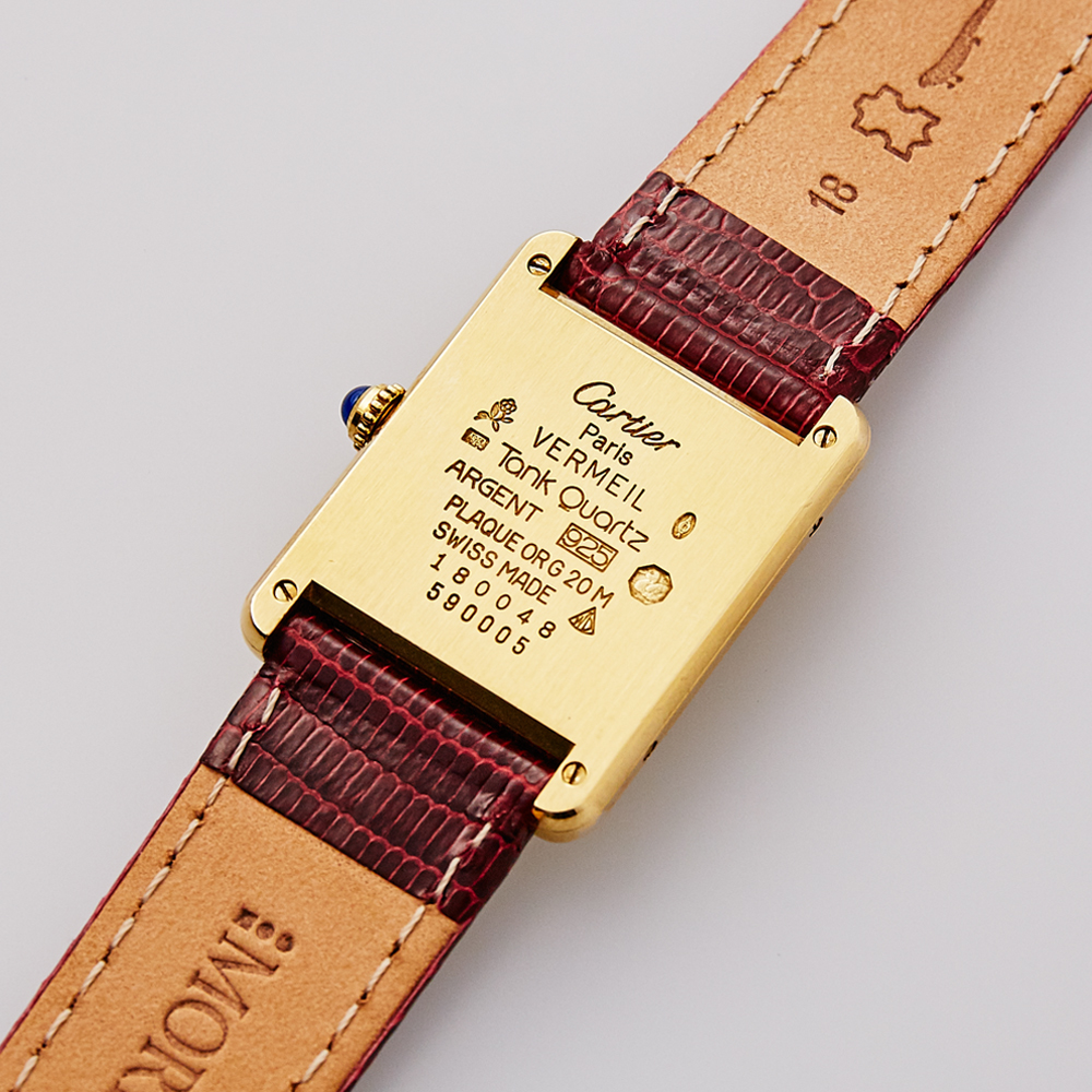 SOLD OUT|Cartier|must de Cartier TANK - 90's|VINTAGE Cartier