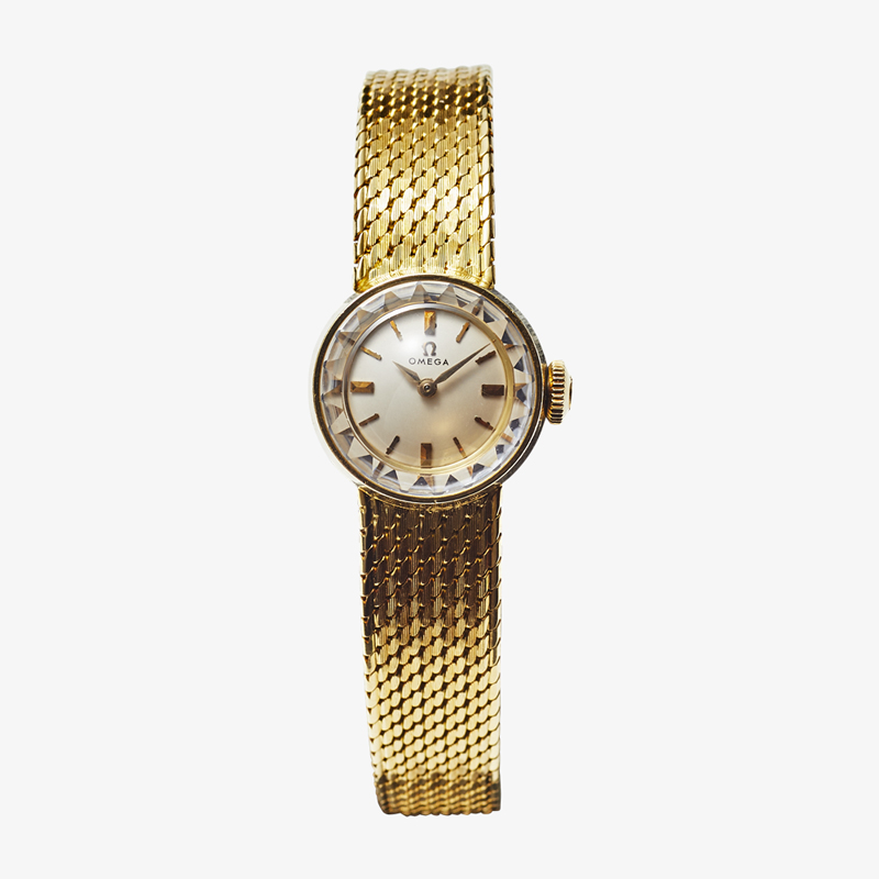 SOLD OUT|OMEGA|18YG Ladies' model – 60's|VINTAGE OMEGA
