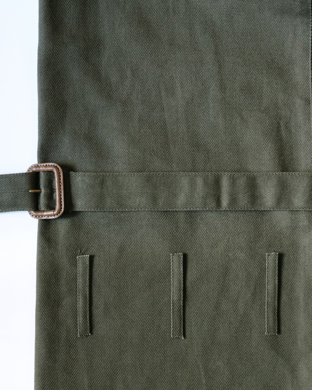 Herringbone JUMPSUIT - Olive Exclusive NEAT
