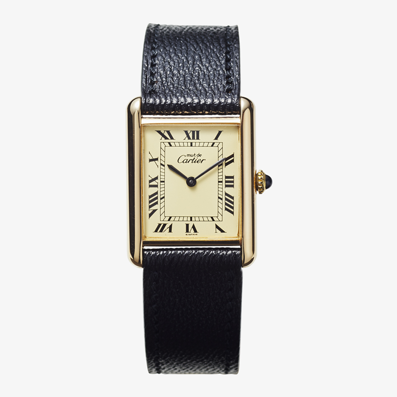 SOLD OUT| Cartier|must de Cartier TANK LM – 80's|VINTAGE Cartier