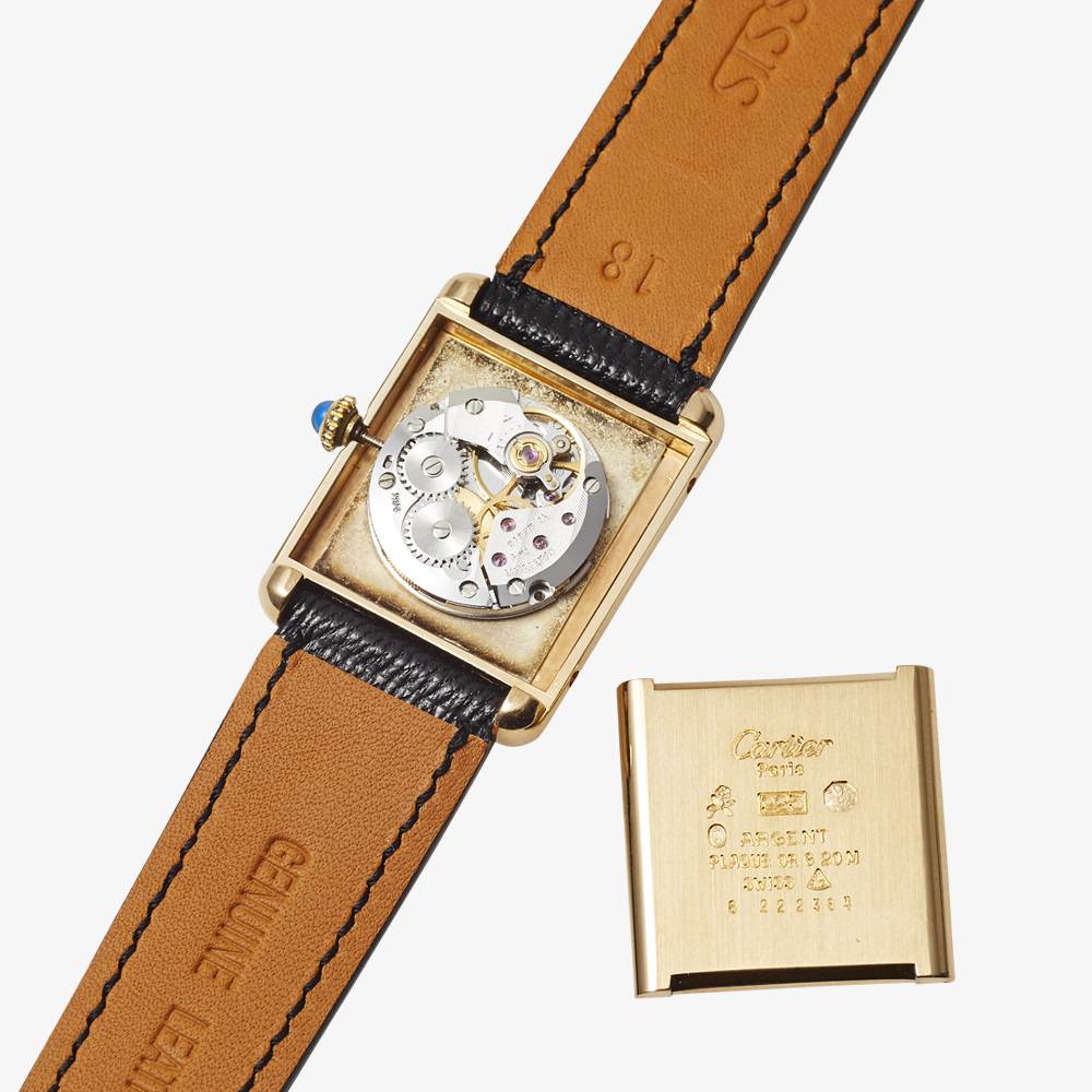 SOLD OUT| Cartier|must de Cartier TANK LM - 80's|VINTAGE Cartier