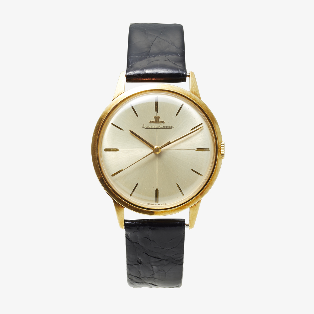 JAEGER-LECOULTRE|18KYG Bar Index Men's model - 60's|VINTAGE JAEGER-LECOULTRE