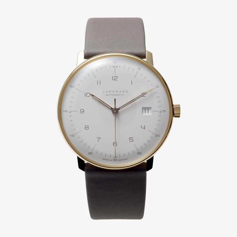 max bill Automatic – White|JUNGHANS