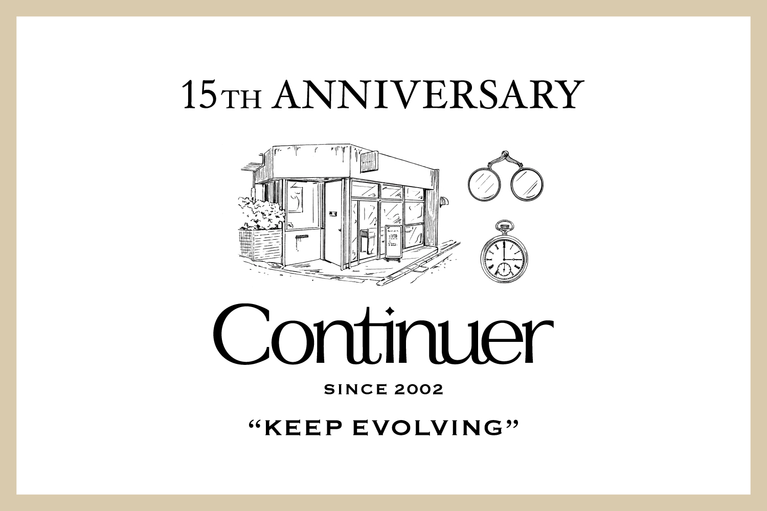 Continuer 15th ANNIVERSARY FAIR