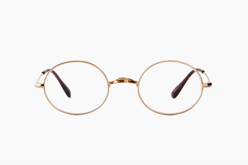 Oliver Oval/Pro Titanium – Gold|OLIVER GOLDSMITH