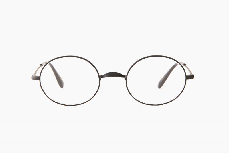 Oliver Oval/Pro Titanium – Matte Nero|OLIVER GOLDSMITH