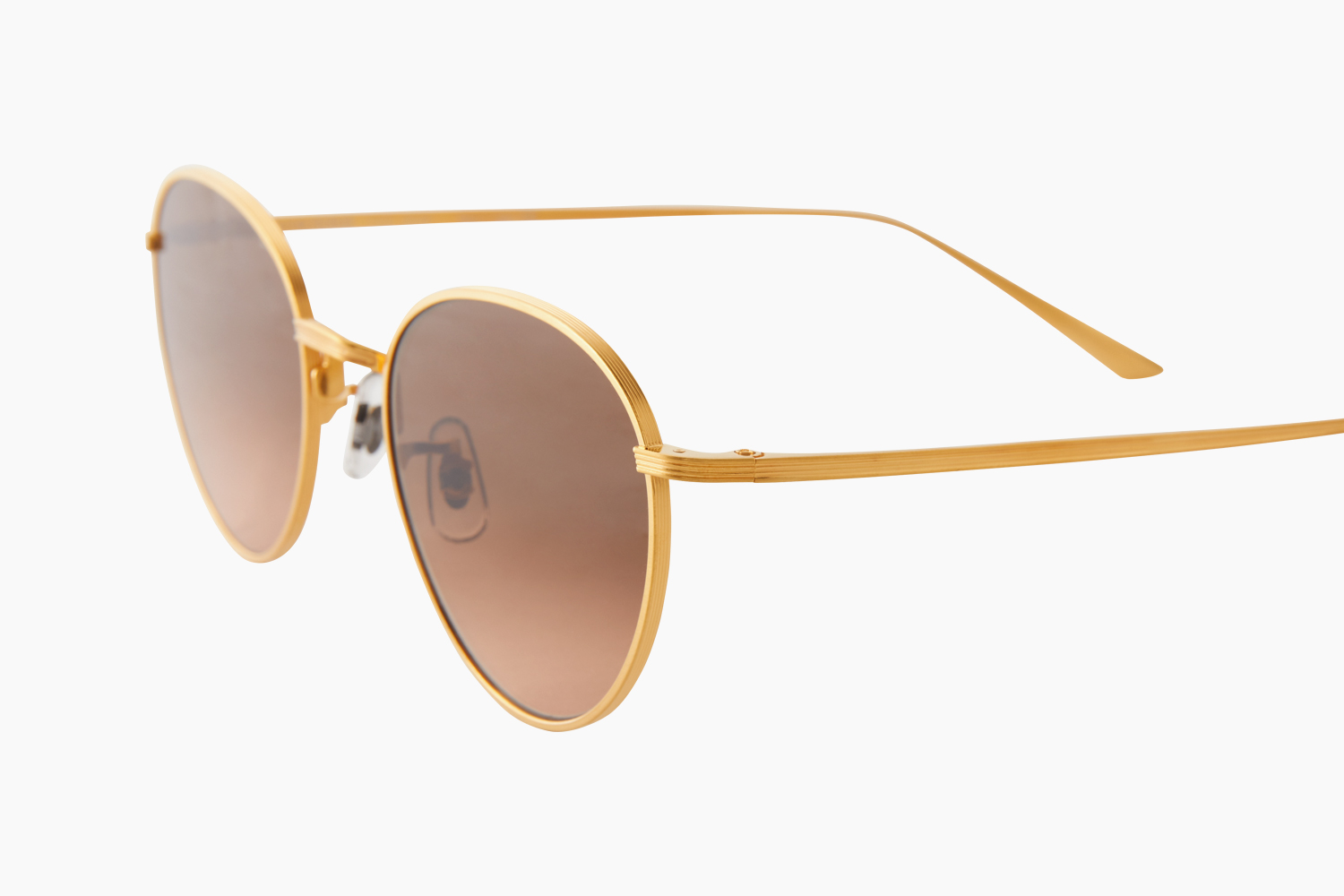 OLIVER PEOPLES THE ROW|BROWNSTONE2 - Yellow Gold|SUNGLASSES COLLECTION - 21SS