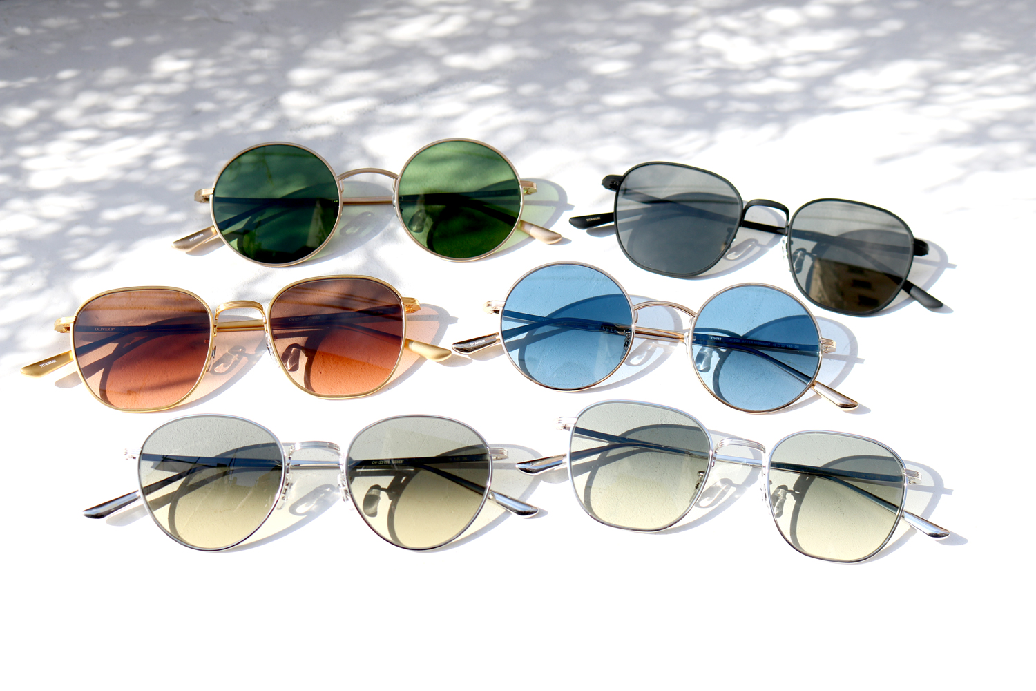 OLIVER PEOPLES × THE ROW|SPRING 2019