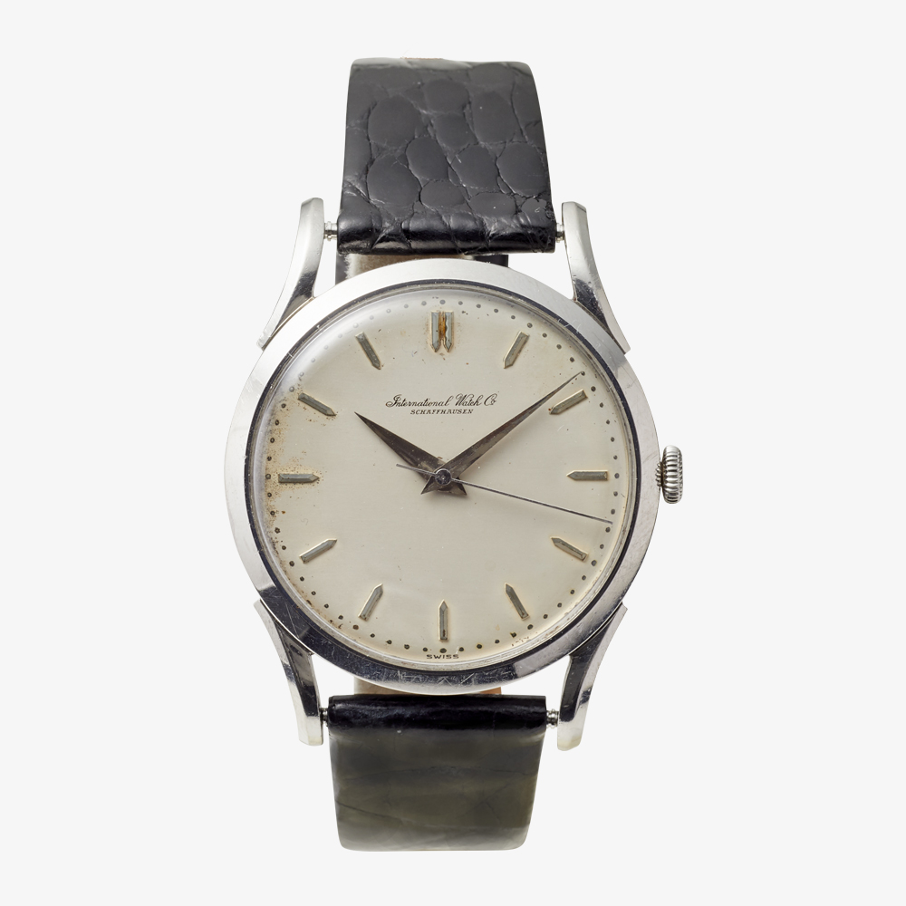 SOLD OUT IWC  Bar Index Men's model - 50's Vintage IWC
