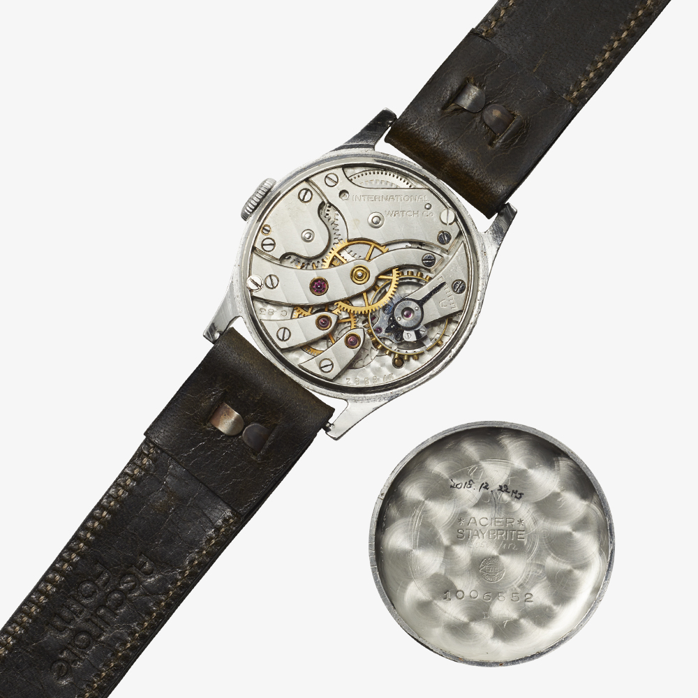SOLD OUT IWC  Bar Index / Small Second - 30's Vintage IWC