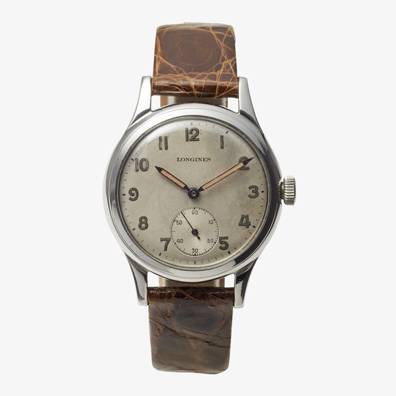 SOLDOUT|LONGINES|Arabic numerals / Small Second – 50's|VINTAGE LONGINES