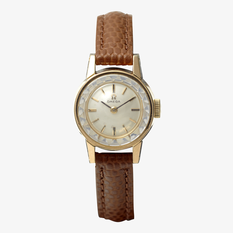 OMEGA|Bar Index / Cut Glass – 60's|VINTAGE OMEGA