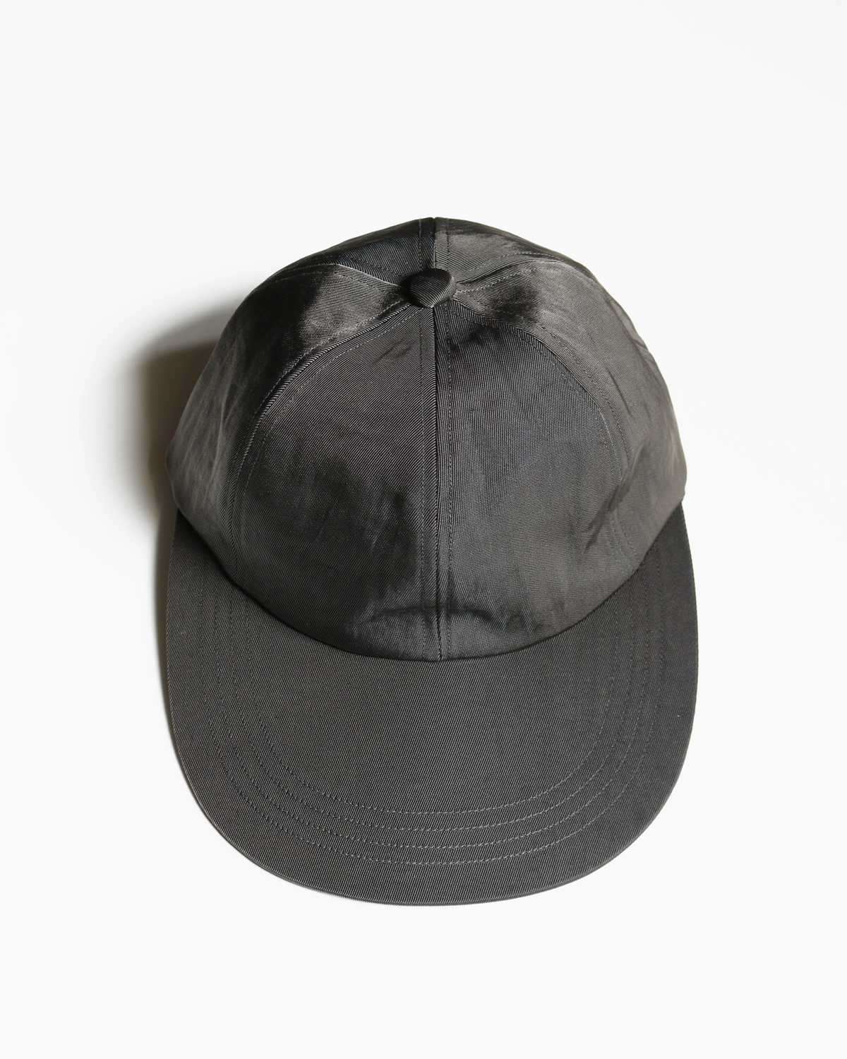 LONG BRIM CAP – GREY|COMESANDGOES