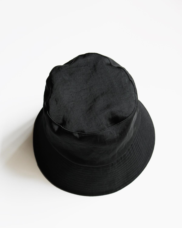 WATERPROOF NYLON BUCKET HAT - BLACK|COMESANDGOES
