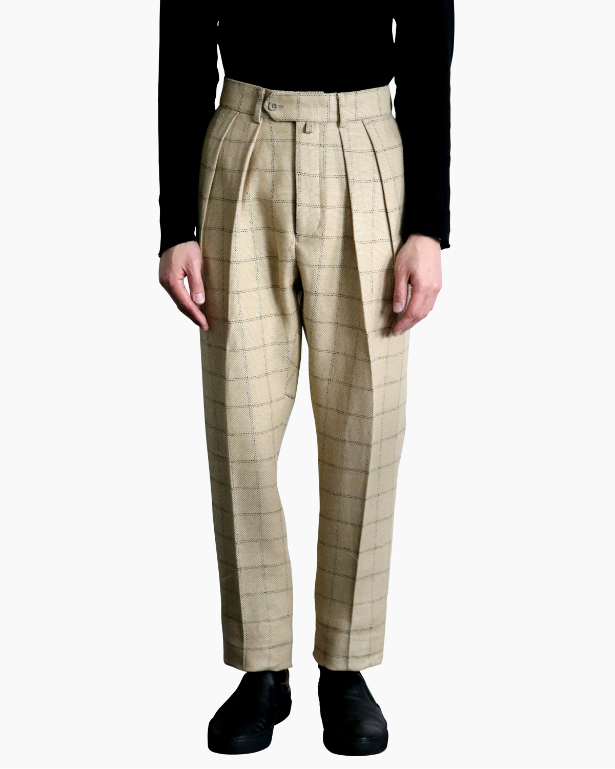 Linen Wash Pain|TAPERED - Beige|NEAT