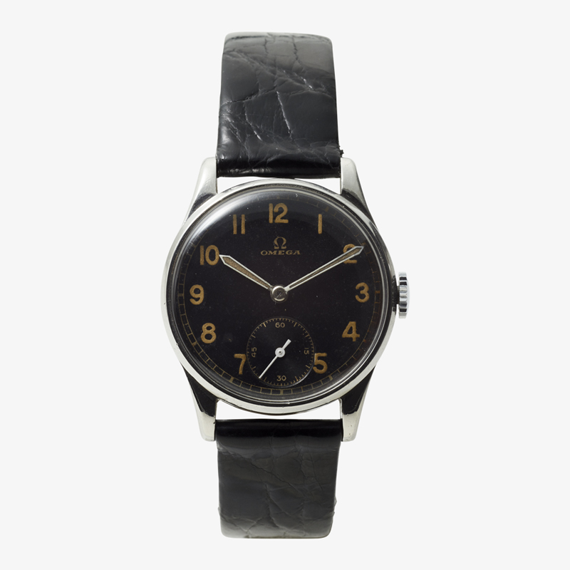 SOLD OUT|OMEGA|Arabic numerals / Small Second – 40's|VINTAGE OMEGA