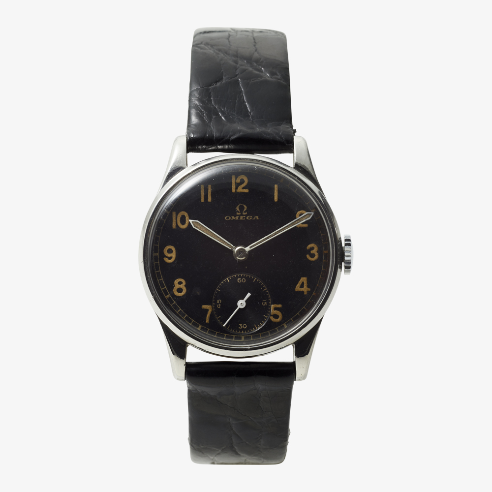 SOLD OUT|OMEGA|Arabic numerals / Small Second - 40's|VINTAGE OMEGA