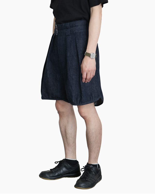 DENIM|GURKHA SHORTS – NAVY|NEAT