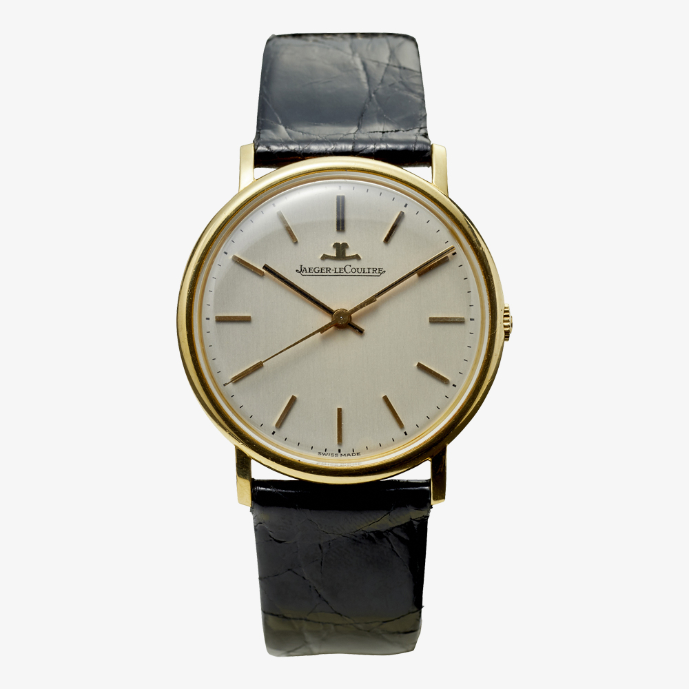 JAEGER-LECOULTRE|18KYG Bar Index model – 70's|VINTAGE JAEGER-LECOULTRE