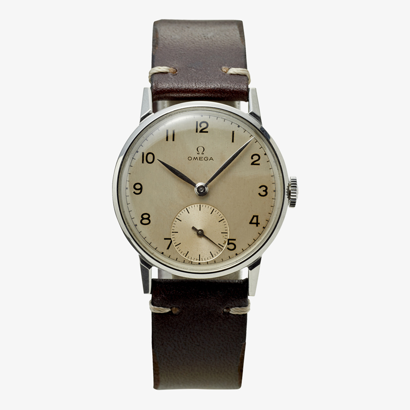 OMEGA|Arabic numerals / Small Second – 50's|VINTAGE OMEGA