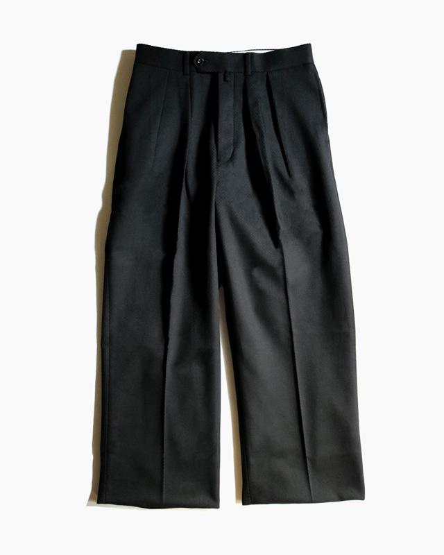 Cotton Kersey Black – WIDE NEAT