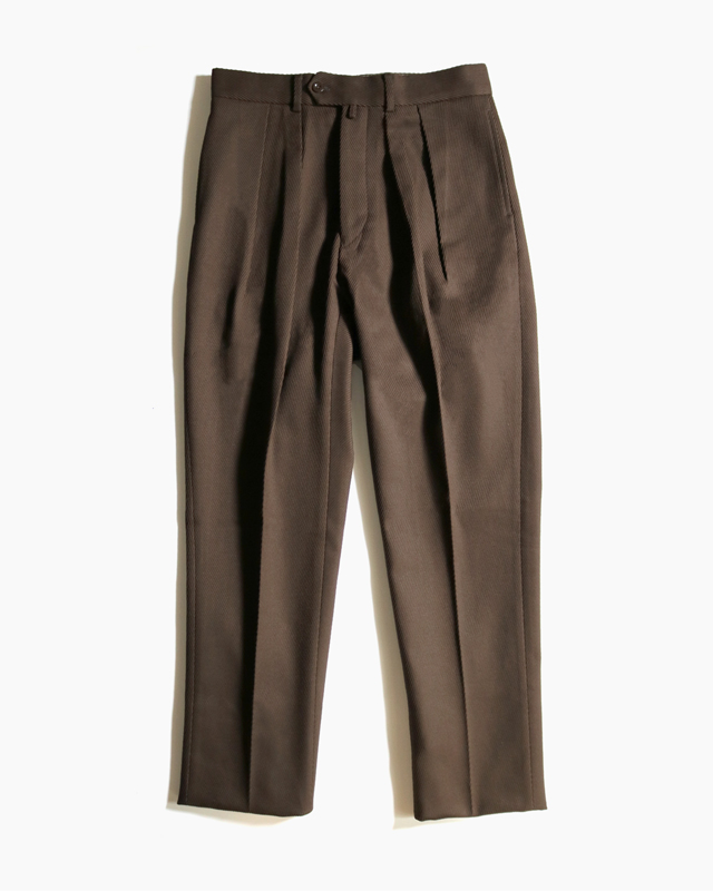Cotton Kersey Brown – Tapered NEAT