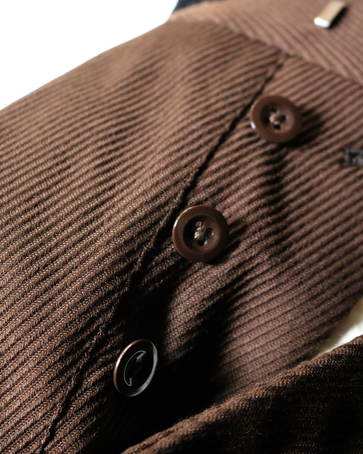 Cotton Kersey|Brown - Tapered|NEAT