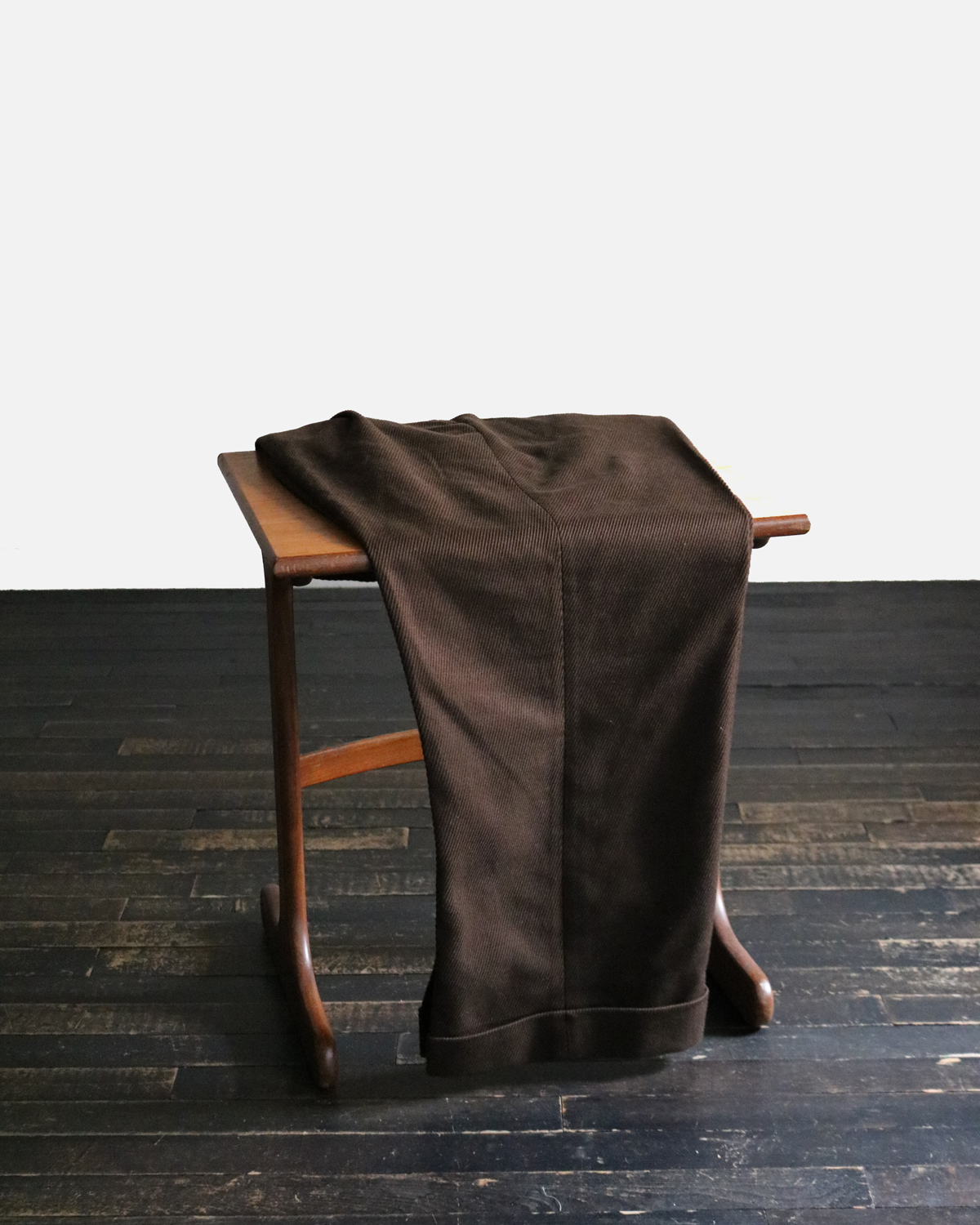 Cotton Kersey|Brown - WIDE|NEAT