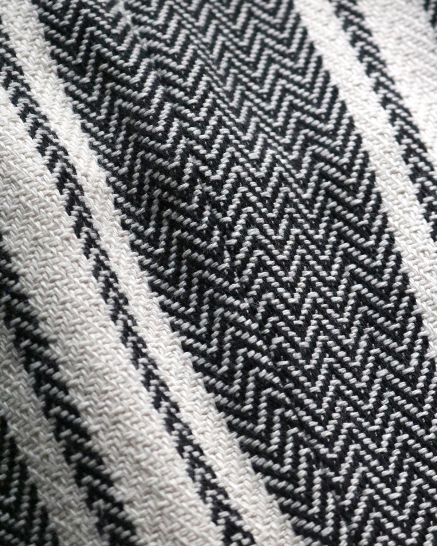 Cotton Mexican WIDE - BLACK / WHITE NEAT
