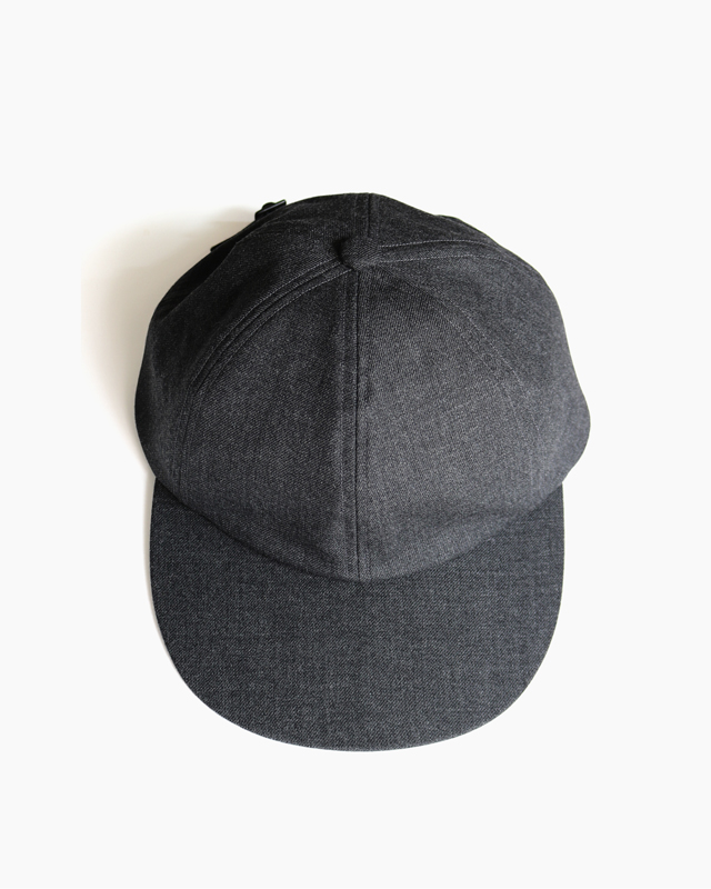 Suit Fabric Cap – Grey|COMESANDGOES