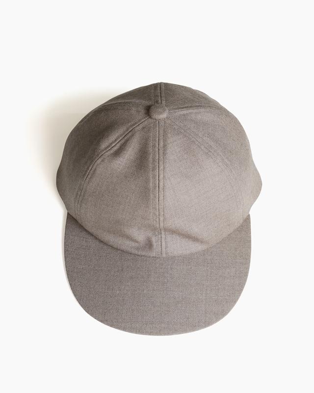 Suit Fabric Cap – Beige|COMESANDGOES