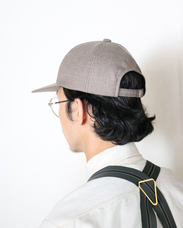 Suit Fabric Cap - Beige|COMESANDGOES