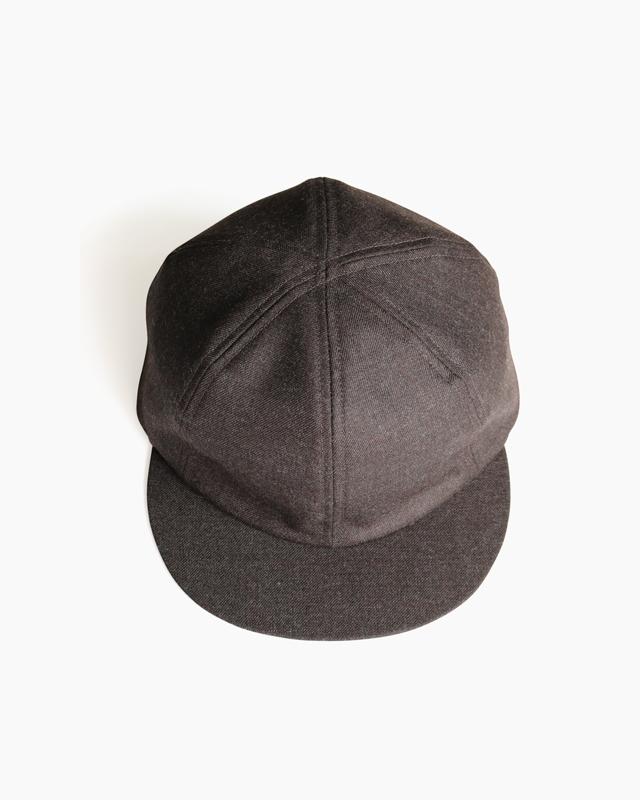 Suit Fabric Little Brim Cap – Khaki Brown|COMESANDGOES