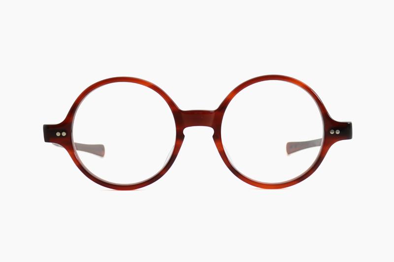 T-ROUND – Amber|JULIUS TART OPTICAL