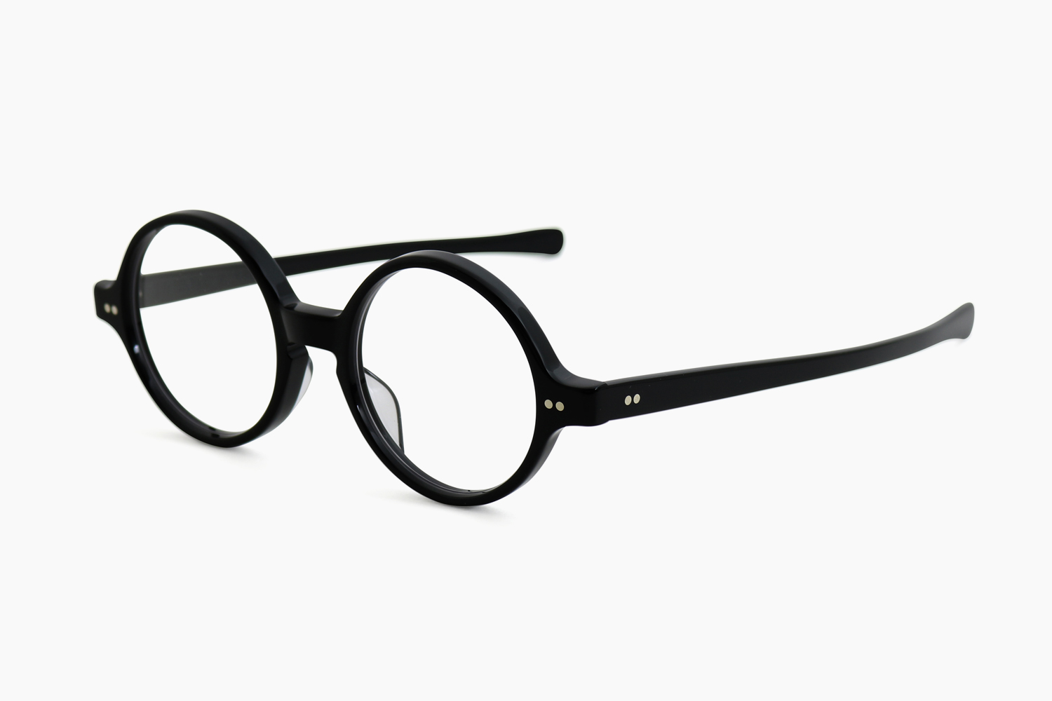 T-ROUND - Black|JULIUS TART OPTICAL
