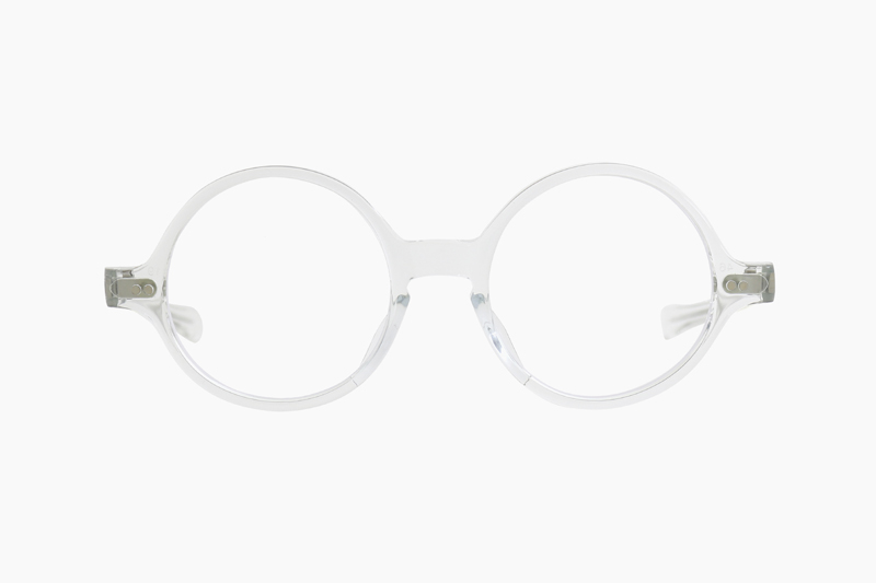 T-ROUND – Clear Crystal|JULIUS TART OPTICAL