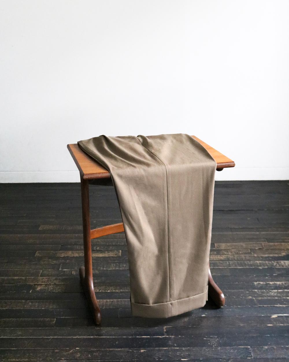 Wool High Density Gabardine|WIDE - Camel|NEAT