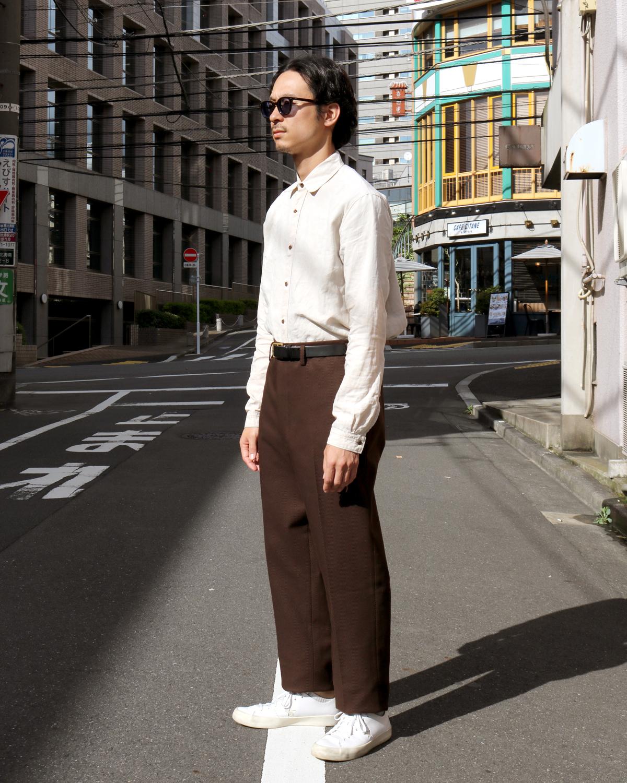 Cotton Kersey|BROWN - TONI|NEAT
