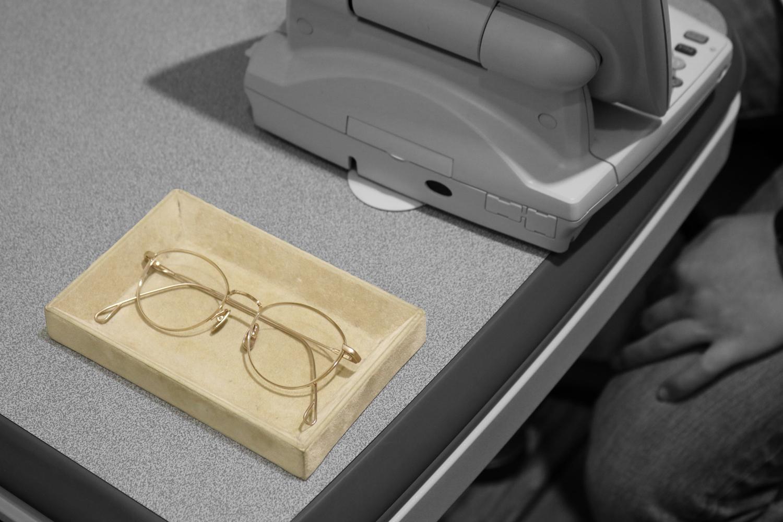 お店で視力測定をする際に必要なものはありますか?