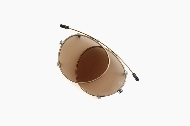 10 eyevan for Continuer|no.3 SLIDE CLIP - Antique Gold / BR|10 eyevan